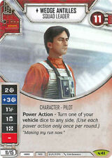 Wedge Antilles - Squad Leader (Sold with Matching Die) Legacies Star Wars Destin