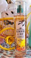 Bath and Body Works CLEMENTINE & MINT LEAVES Fragrance Mist 8 fl oz /236mL *NEW*