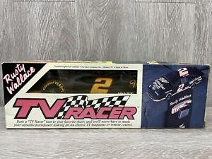 Vtg TV RACER NASCAR Beanbag Organizer ~ #2 Rusty Wallace NEW In Box