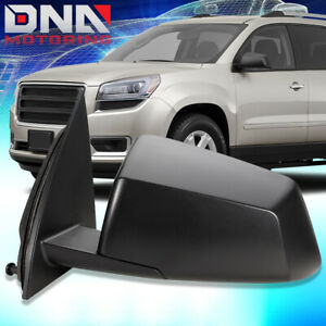 For 2013 GMC Acadia Powered Blind Spot Detection Left Driver Side View Mirror