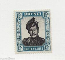 1952 Brunei Sc# 91 ** MNH f/vf Sultan Omar Ali Saifuddien II postage stamp