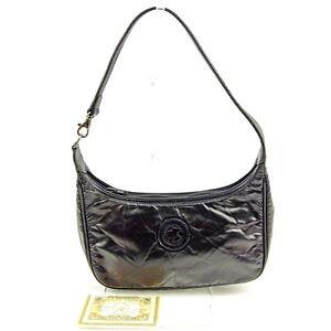 HUNTING WORLD Handbag Black Woman Authentic Used Y6613
