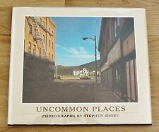 SIGNED STEPHEN SHORE UNCOMMON PLACES - 1982 1ST EDITION & 1ST PRINTING HARDCOVER