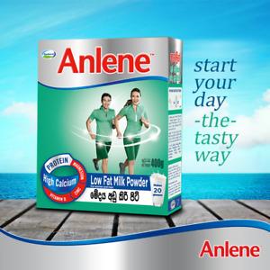 Anlene 400g (14 oz) High Calcium Low Fat Milk Powder for Men & Women Fonterra
