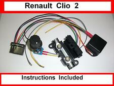 Renault Clio 2 - Kit - Electric power steering controller box - ECU plug - EPAS