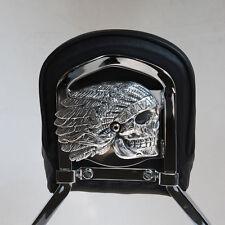Native Spirit insert for Harley backrest in Polished  aluminum.  Harley. NSBR-1