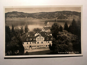 Alte AK von Bodman am Bodensee, Schloß und Kirche, gelaufen 1935