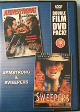 DVD Armstrong (Frank Zagarino) & Sweepers (Dolph Lundgren) FSK 18 Double Film