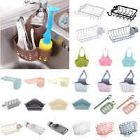 Kitchen Organizer Sink Hanging Holder Cleaning Draining Basket Washing Rack Dish