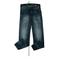 G-Star New Radar Low Loose Herren Jeans Hose Destroy W30 L32 used look Blau NEU