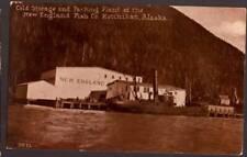 [-384]  Packing Plant - New England fish Co. Ketchikan Alaska - Early 1900s