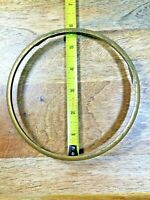 Nice Old Brass Clock Dial Trim Ring  (Dial Lot K1310)