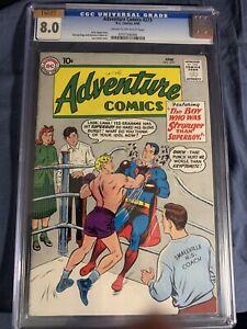 Adventure Comics #273 Graded 8.0
