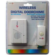 Wireless  Digital Door Bell  Doorbell 25 Tunes Doorchime 100M Range