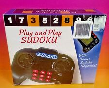 New Sealed Plug and Play Sudoku + Sudoku Key Chain Plugs into TV FREE SHIP Rare