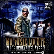 Trece Reglas Del Varrio [PA] by Mr. Yosie Locote CD, 2012,