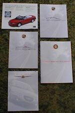 1997 - 1998 Chrysler Sebring Sales Brochure Lot of 5 97 98