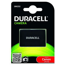 Duracell Canon Lp-E12 Replacement Rechargable Battery For Digital Camera New
