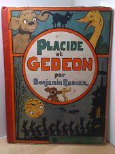 Benjamin Rabier Placide et Gédéon Garnier 1928