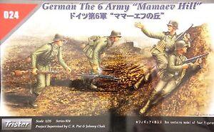 1/35 Tristar 024: German Infantry 6 Army Mamaev Hill (4 Figures)