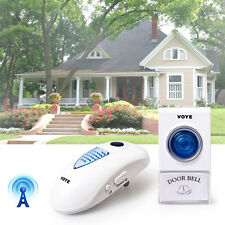 Digital Plug-in Doorbell LED 1 Remote Control 1 Wireless Doorbell 38 Tunes