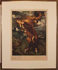 Listed Mexican Artist David Alfaro Siqueiros, Original Signed Lithograph