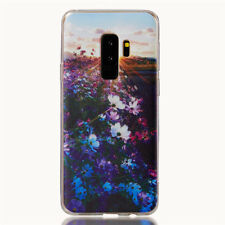 For Samsung Galaxy S6 S7 S8 S9 Plus Note 9 Silicone Painted Soft TPU Case Cover