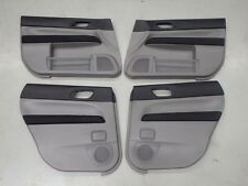 Subaru Forester SG9 STi 2004 Interior Door Card Panel Trim Set #6