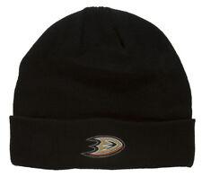 NHL Beanie Cuff Anaheim Mighty Ducks- Black