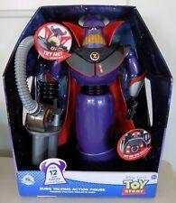 "NEW Talking Zurg 14"" Action Figure Toy Story Authentic Pixar Disney Store"