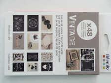 Set 48 cartes Vintage Artemio Loisirs scrapbooking photos papeterie