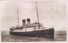 Postcard Shipping Ferry S.S Isle Of Sark Jersey Real photo unposted