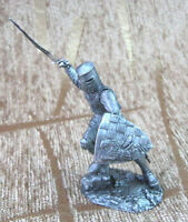 TIN miniature Collection Toy Figure XII century GERMAN Knight 54 mm 1:32