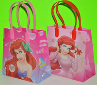 12 X DISNEY ARIEL THE LITTLE MERMAID LOOT/GOODY BAGS PARTY FAVORS CANDY BAGS LOT