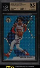 2019 Panini Mosaic Blue Fluorescent Matisse Thybulle Rookie Rc /15 #245 Bgs 9.5