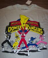 MIGHTY MORPHIN POWER RANGERS T-Shirt LARGE NEW w/ tag