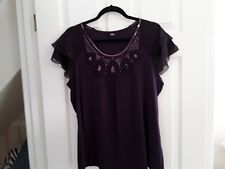 Marks & spencer sequin top, size 16, new