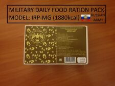 MILITARY DAILY FOOD RATION PACK IRP-MG (Russian Army) HIKING FOOD (1880kcal)