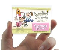 PARENTING WOULD YOU RATHER? GAME Hilarious Baby Shower Game Great Unisex Design