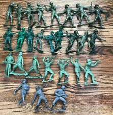 27 – LOUIS MARX and MPC Soldiers – Americans, Russians, Germans – 6 INCH Plastic