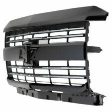 2015-2018 Silverado 2500HD 3500HD Gloss Black Grille 23335302 w/ Chrome Inserts
