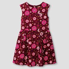 Big Girls' A Line Burgundy Red Sleeveless Dress Genuine Kids from OshKosh, Large