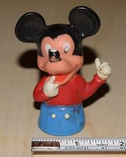Mickey Mouse Plastic Figure - 1970's