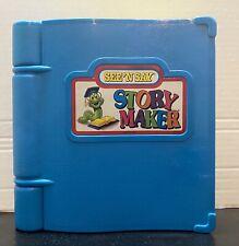 Vintage See 'N Say Story Maker Mattel 1991 Silly Sentences Book TESTED WORKS
