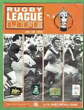 #T104.   RUGBY LEAGUE LIFE MAGAZINE, JUNE 1968, WORLD CUP COVER, DAMAGE
