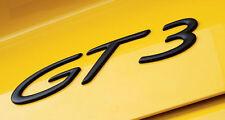 NUOVO Originale Porsche GT3 BLACK BADGE POSTERIORE 911 996 997 993 964