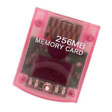 256MB memory card for Nintendo Wii GameCube GC 4086 block LIFETIME warranty