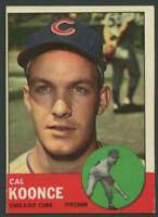 1963 Topps #31 Cal Koonce EX/EX+ RC Rookie Cubs 23176