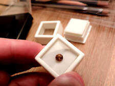 1.15ct PORTUGUESE ROUND Mali Garnet.This is a REAL MALI GARNET SUPER HIGH GRADE