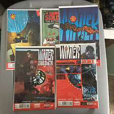 Marvel WINTER SOLDIER BITTER MARCH (2014) 1 2 4 5 + 1 ANIMAL Variant NM